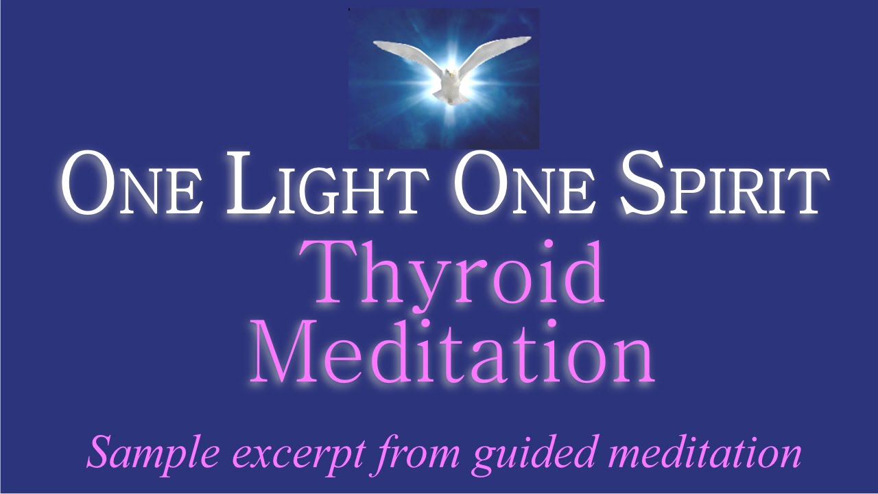 Thyroid Meditation | Hypothyroid Mom