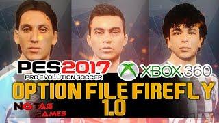 PES 2017 - PATCH/OPTION FILE XBOX 360 - BRASILEIRÃO [FIREFLY 1.0]