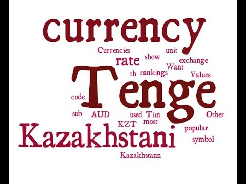 Kazakhstani Currency - Tenge
