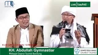 Duet ulama dan umaro Ridwan Kamil dan Aa Gym