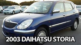 2003 DAIHATSU STORIA (SIRION) CX for sale