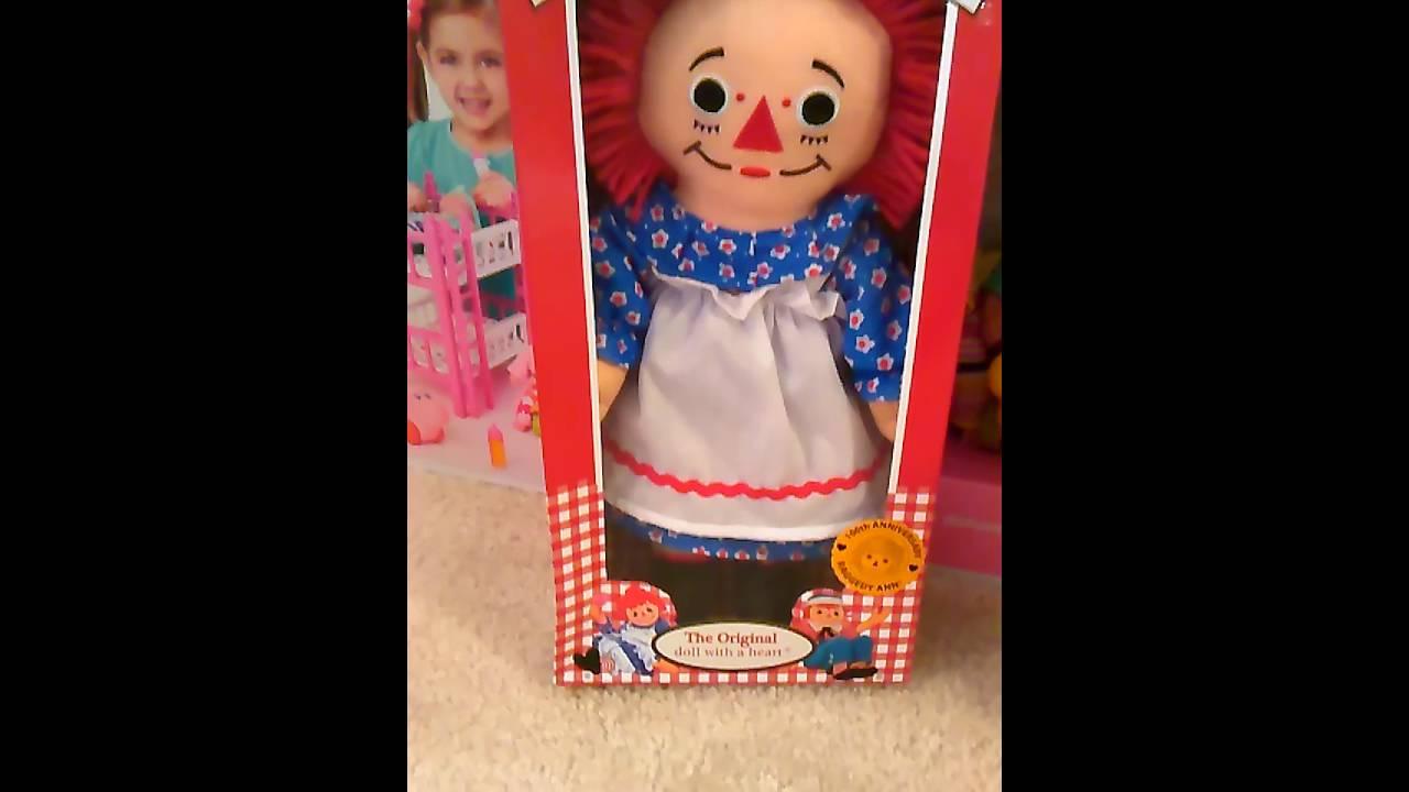 raggedy ann doll opening youtube