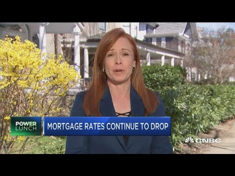 Mortgage rates continue to drop