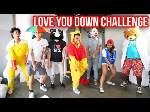 LOVE YOU DOWN CHALLENGE! #LoveYouDownChallenge