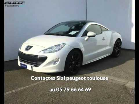 peugeot rcz occasion visible toulouse pr sent e par sial peugeot toulouse youtube. Black Bedroom Furniture Sets. Home Design Ideas