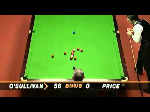 Ronnie O'Sullivan fastest 147 in history vs Mick Price at  t