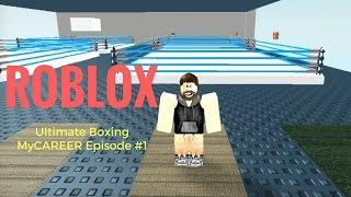 ROBLOX Ultimate Boxing ? #1 episodio MyCAREER