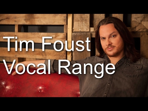 Tim Foust - Vocal Range (A0-A5) (By Axel Fuentes)