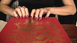 ASMR * Tapping & Scratching * Theme: Travel to China! * Fast Tapping * No Talking * ASMRVilla