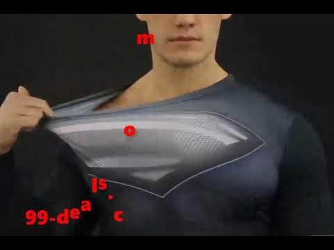 Adult bowling shirt superman