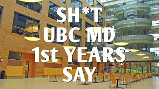 Sh*t UBC MD 1st Years Say thumbnail