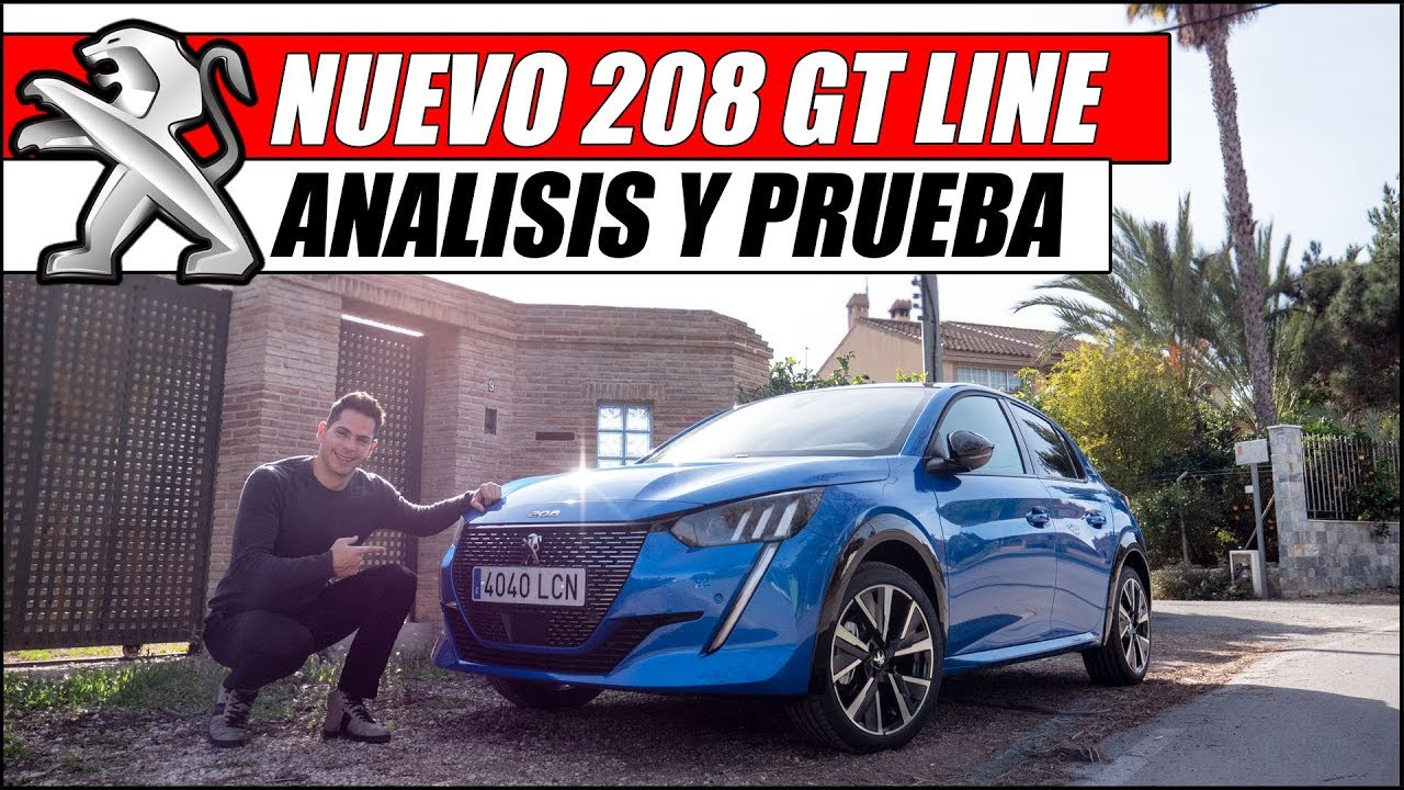 ¡¡ PROBAMOS EL NUEVO PEUGEOT 208 GT LINE !! | Supercars of Mike