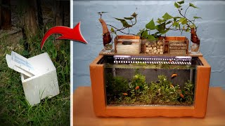 Amazing Ideas With Cement and Styrofoam For You - Recycle St...