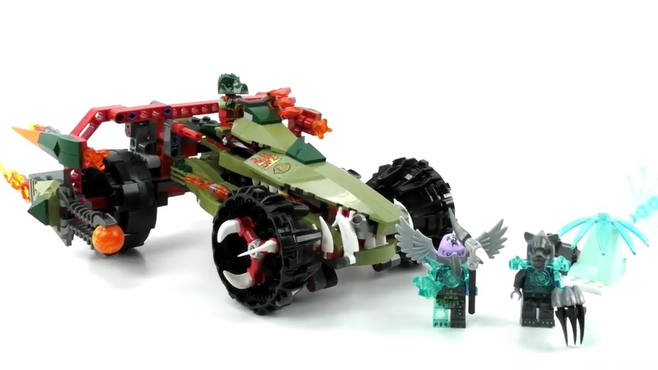 Lego Chima Set 70135 Craggers Feuer Striker Review Deutsch Youtube