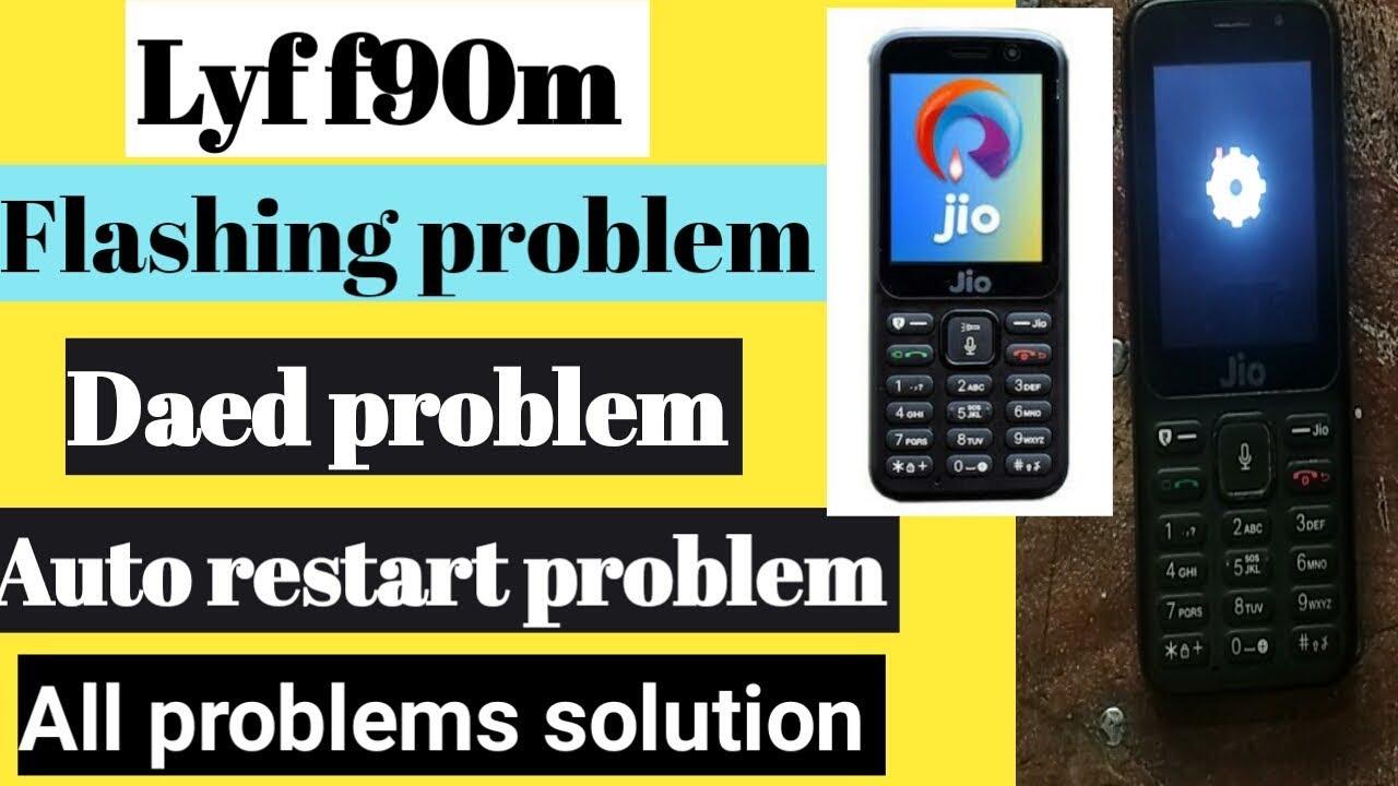 lyf f90m flashing problem   Daed problem   auto restart problem solution