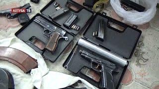 Задержание спецназом торговцев оружием. Оперативная съёмка.