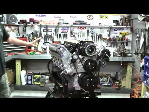 LS7 441CI Stroker Crate Engine By Proformance Unlimited