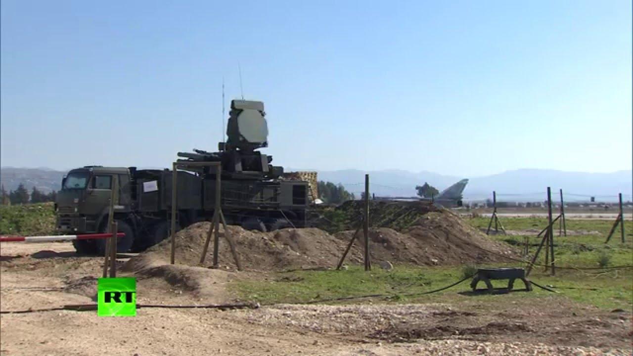 Российские С-400 и ЗРПК «Панцирь-С2» на дежурстве в Сирии