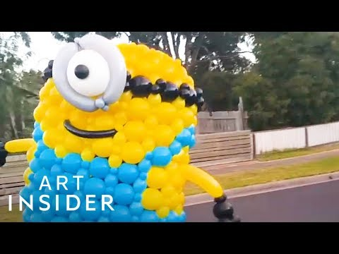 Balloon Costumes Are Completely Biodegradable