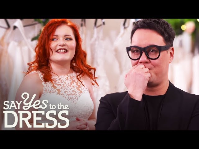 Gok Helps Blind Bride Lucy Find Her Confidence | Say Yes To The Dress Lancashire