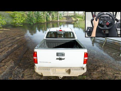Chevrolet Colorado Truck - Forza Horizon 4   Logitech G29 Gameplay