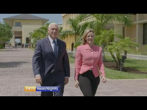 One-on-one interview with Vice President Mike Pence - ENN 2019-03-28