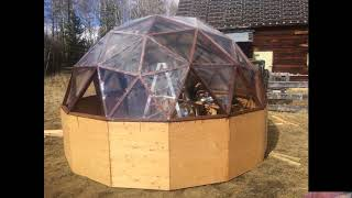 Geodesic Dome Construction for my Aquaponics.