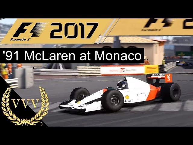 F1 2017 '91 McLaren at Monaco