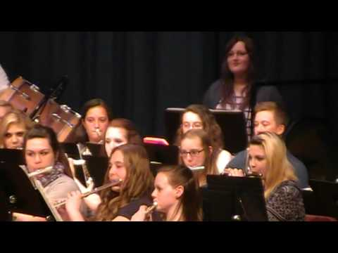 New Holstein High School Spring Band concert