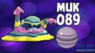Alolan Muk evolution - Generation 7 Pokedex 089 - Pokemon GO [No Hack]