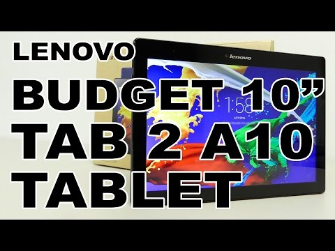 Lenovo TAB 2 A10 Tablet Review