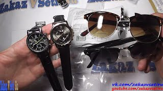 Посылка из Китая 775 - 777 aliexpress. Хорошая реплика копия на часы Tissot и  модные очки Ray Ban(Tissot реплика aliexpress http://bit.ly/1MtsLQe ➲ реплика часы Moonar aliexpress https://goo.gl/keiYa0 ➲ Ray Ban Clubmaster aliexpress http://bit.ly/1TYh2uf ✌., 2015-06-29T05:00:00.000Z)