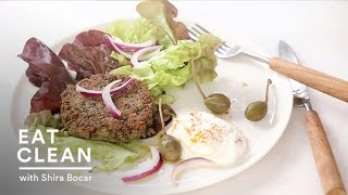 Lentil Burgers With Greek Yogurt - Eat Clean With Shira Bocar