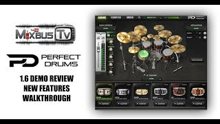 Perfect Drums 1.6 Demo Review, New Features - Massive Sounding Drums