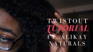 MOISTURIZED TWISTOUT FT. ALIKAY NATURALS | NATURAL HAIR
