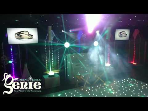 Wedding Disco Genie - Premium White Video Disco [V2]