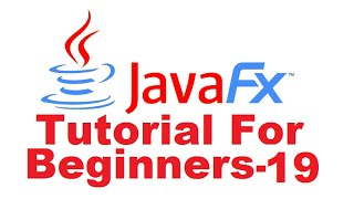 JavaFx Tutorial For Beginners 19 - JavaFX Bidirectional Binding and using Slider