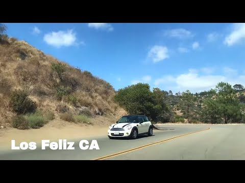 🔴  Los Feliz Realtor Driving Tour 4K