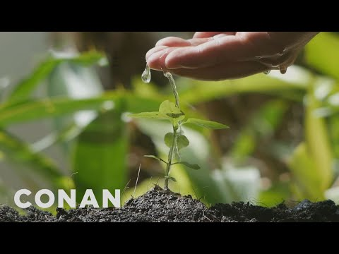 How To Make Your Plants Scream With Pleasure - CONAN on TBS