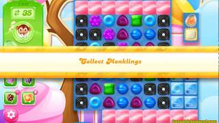 Candy Crush Jelly Saga Level 1541 (3 stars, No boosters)