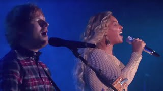Ed Sheeran and Beyonce Sing DRUNK IN LOVE | What's Trending Now