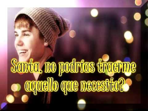 All I want for Christmas is you - Justin Bieber ft. Mariah Carey (traducida al español)