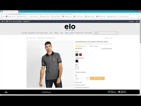 How to Order on www.elo.com.pk
