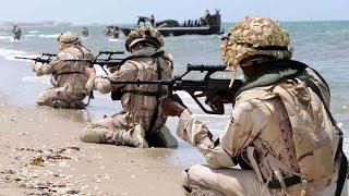 إنزال بحري لقوات الصاعقة ومشاة البحرية السعودية على الاراضي اليمنية