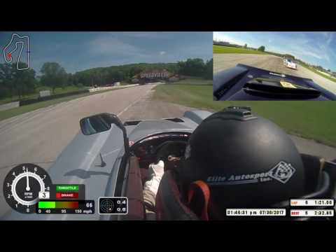 AWESOME RACE! 2017 CAT Majors Sunday SRF3 race at Road America Spec Racer Ford