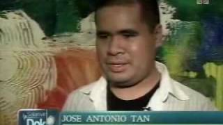 J.A. Tan, autistic artist featured in Salamat Dok on Aug 1