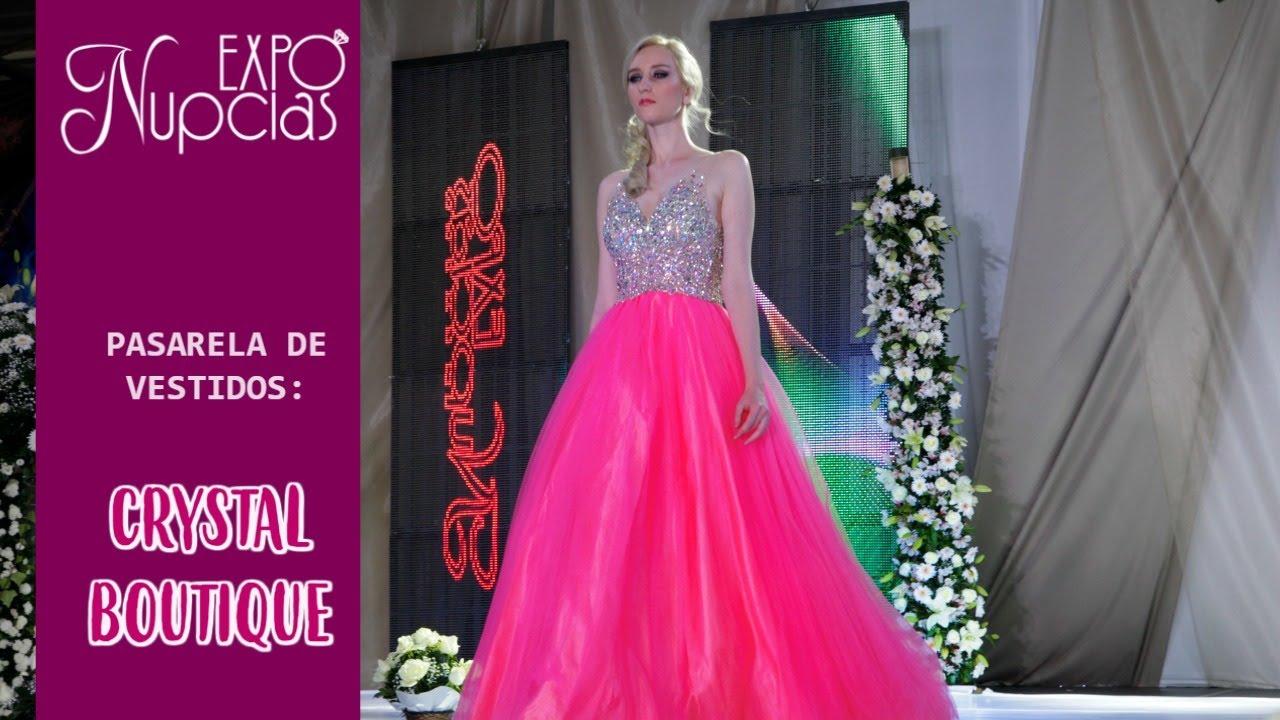 Expo Nupcias Pasarela de vestidos de noche por Crystal Boutique Oct ...