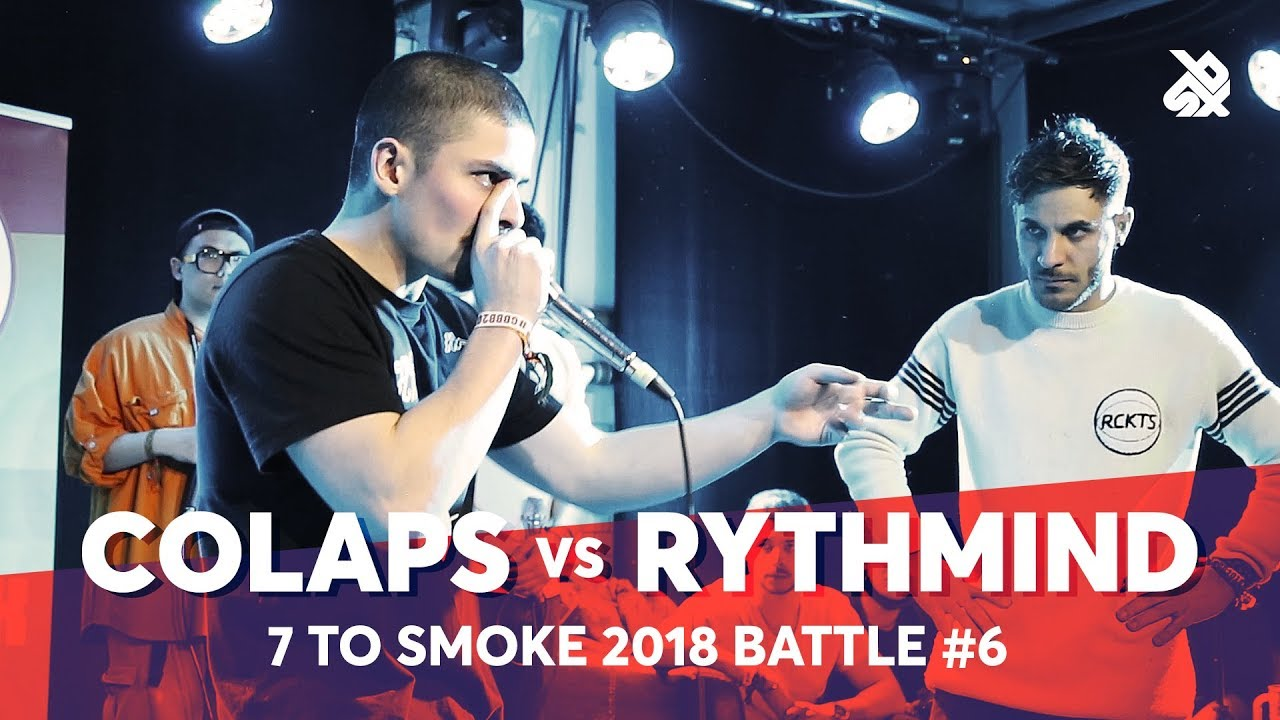 RYTHMIND vs COLAPS | Grand Beatbox 7 TO SMOKE Battle 2018 | Battle 6