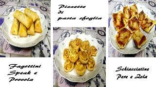 Antipasti natalizi con pasta sfoglia - Ricette facili