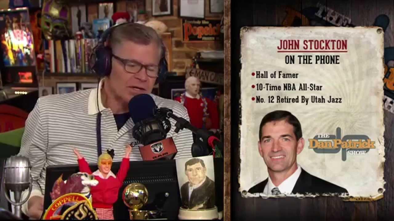 8c2bcc5083d Utah Jazz: John Stockton Speaks On The Dan Patrick Show
